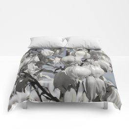 Yucca blossom Comforters
