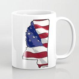 Patriotic Mississippi Coffee Mug