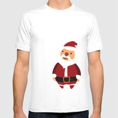 Merry Christmas! Mens Fitted Tee White MEDIUM