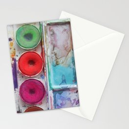 Watercolor Colorful Stationery Cards