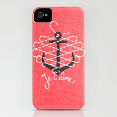 Je t'aime Slim Case iPhone (4, 4s)