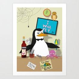 Penguin: The Barman Art Print