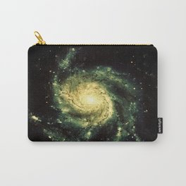 Spiral Galaxy : Messier 101 Carry-All Pouch
