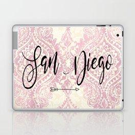 Pink San Diego Design Laptop & iPad Skin