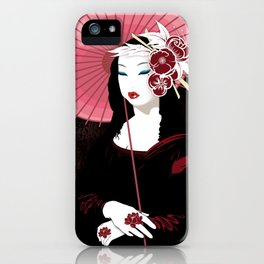 Mona Geisha Lisa iPhone Case