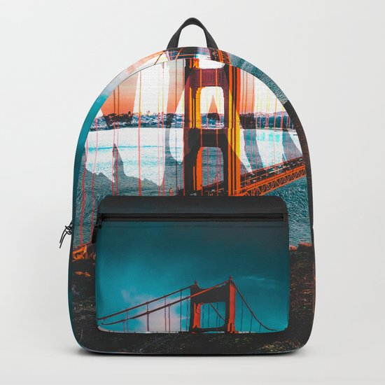 Wander Golden Gate Bridge Backpack