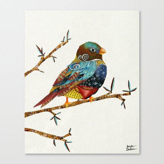 Twilight Bird Canvas Print