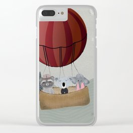 the littlest adventure Clear iPhone Case