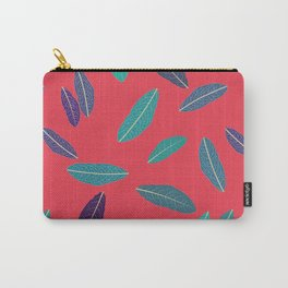 Pink Fall Carry-All Pouch