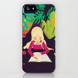 Writing iPhone Case