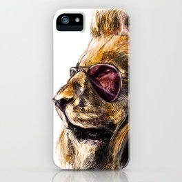 LionO iPhone Case