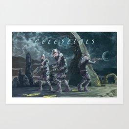 Celestials Art Print