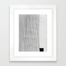D24 Framed Art Print