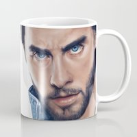 jared leto Mugs featuring Jared Leto by mari_art89