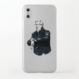 Fergie Time Clear iPhone Case