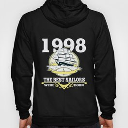Sailor Gift 1998 Birthday Present Sailing Hoody