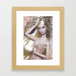 MISS BEHAVE Framed Art Print