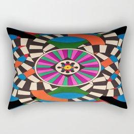 Spinning Off the Beaten Path Rectangular Pillow
