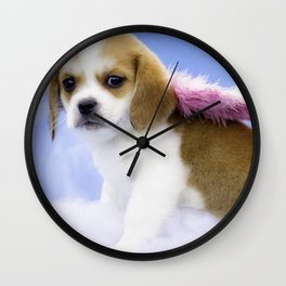 Miracle the Angel Wall Clock