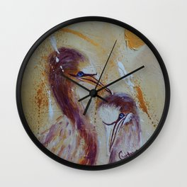 Crazy Love | Fou D'Amour Wall Clock