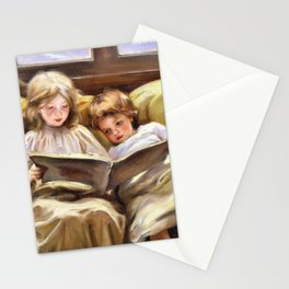 12,000pixel-500dpi - Laura Muntz Lyall - Interesting Story - Digital Remastered Edition Stationery Cards