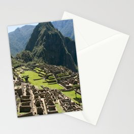 Machu hu Peru Stationery Cards