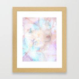 Le jour ou je t'ai vu Framed Art Print