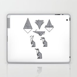 Origami Penguin Laptop & iPad Skin