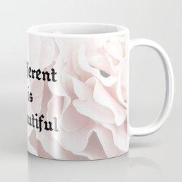 Different Is Beautiful Coffee Mug