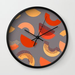 Mid-century decor Wall Clock