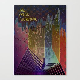 The Color Adventure in The Mistic Areas Canvas Print