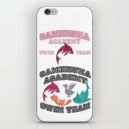 Samezuka - Shark iPhone Skin