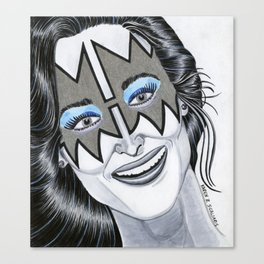 Meryl - The Spacewoman Canvas Print