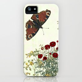 Shaking the wainscot where the field mouse trots iPhone Case