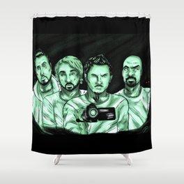 Ghost Adventures - Fanart Shower Curtain