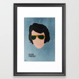 Rock Legends - Elvis Presley Framed Art Print