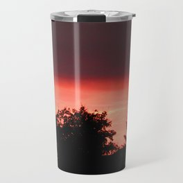 Fire in the Sky  Travel Mug