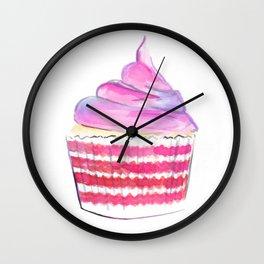 Cupcake no 1 Wall Clock