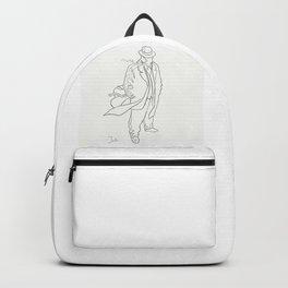 Mobster in contemplation Backpack