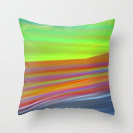 lightscape Throw Pillow