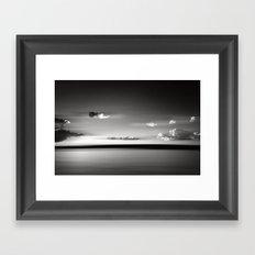 Floating BW Framed Art Print