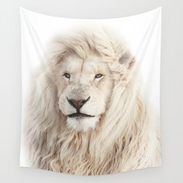 White Lion Wall Tapestry