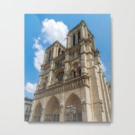 Cathédrale Notre-Dame de Paris Metal Print
