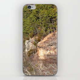 Climbing Up Sparrowhawk Mountain above the Illinois River, No. 3 of 8 iPhone Skin