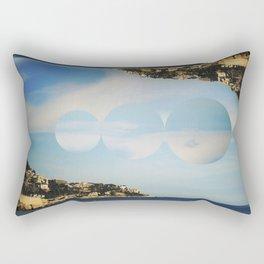 between the islands. Rectangular Pillow