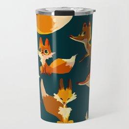 Foxes everywhere Travel Mug