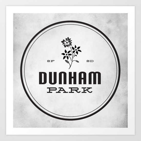 Dunham Park Art Print