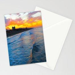 Sunrise Huntington Beach   10/7/13 Stationery Cards
