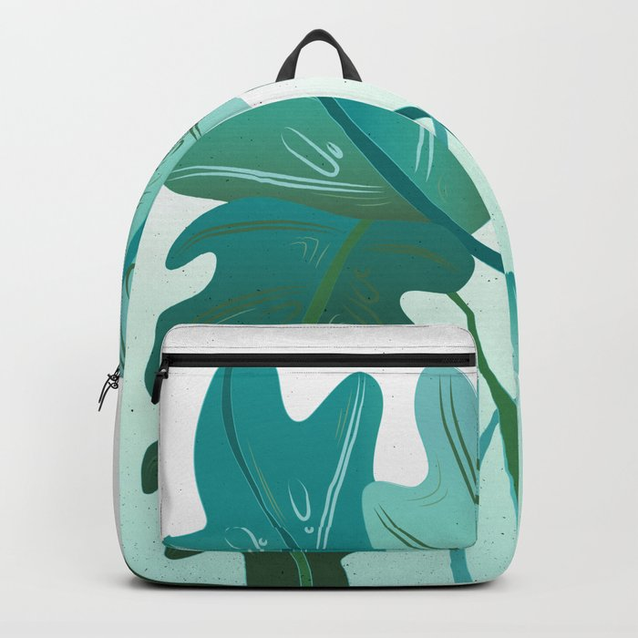 Round Leaves Flow Backpack