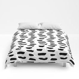 Abstract Hand Drawn Patterns No.9 Comforters